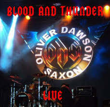 Blood and Thunder Live CD